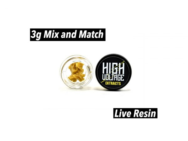 High Voltage Extracts Live Resin 3g