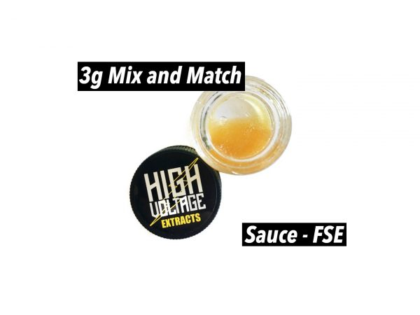 High Voltage Extracts Sauce 3g