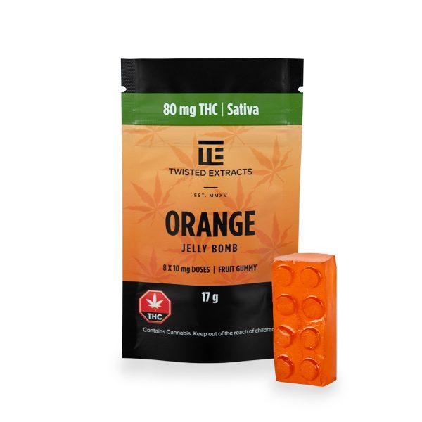 Orange Jelly Bomb
