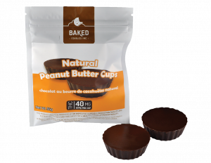 Baked Edibles Peanut Butter Cups