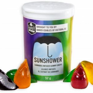 Sunshower Gummies Baked Edibles