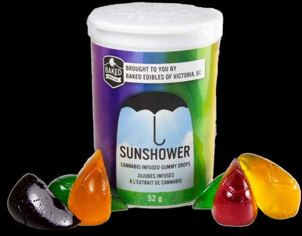 Sunshower Gummies Baked Edibles