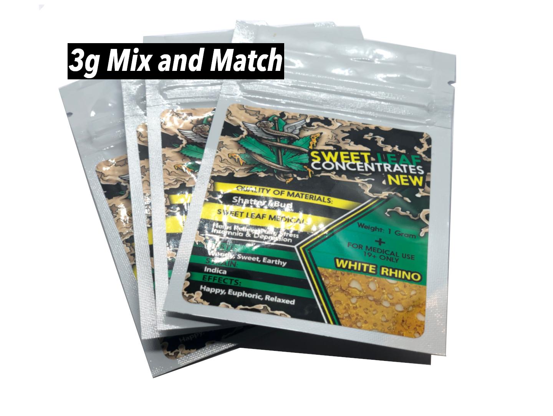 White Label Shatter Sweet Leaf 3g