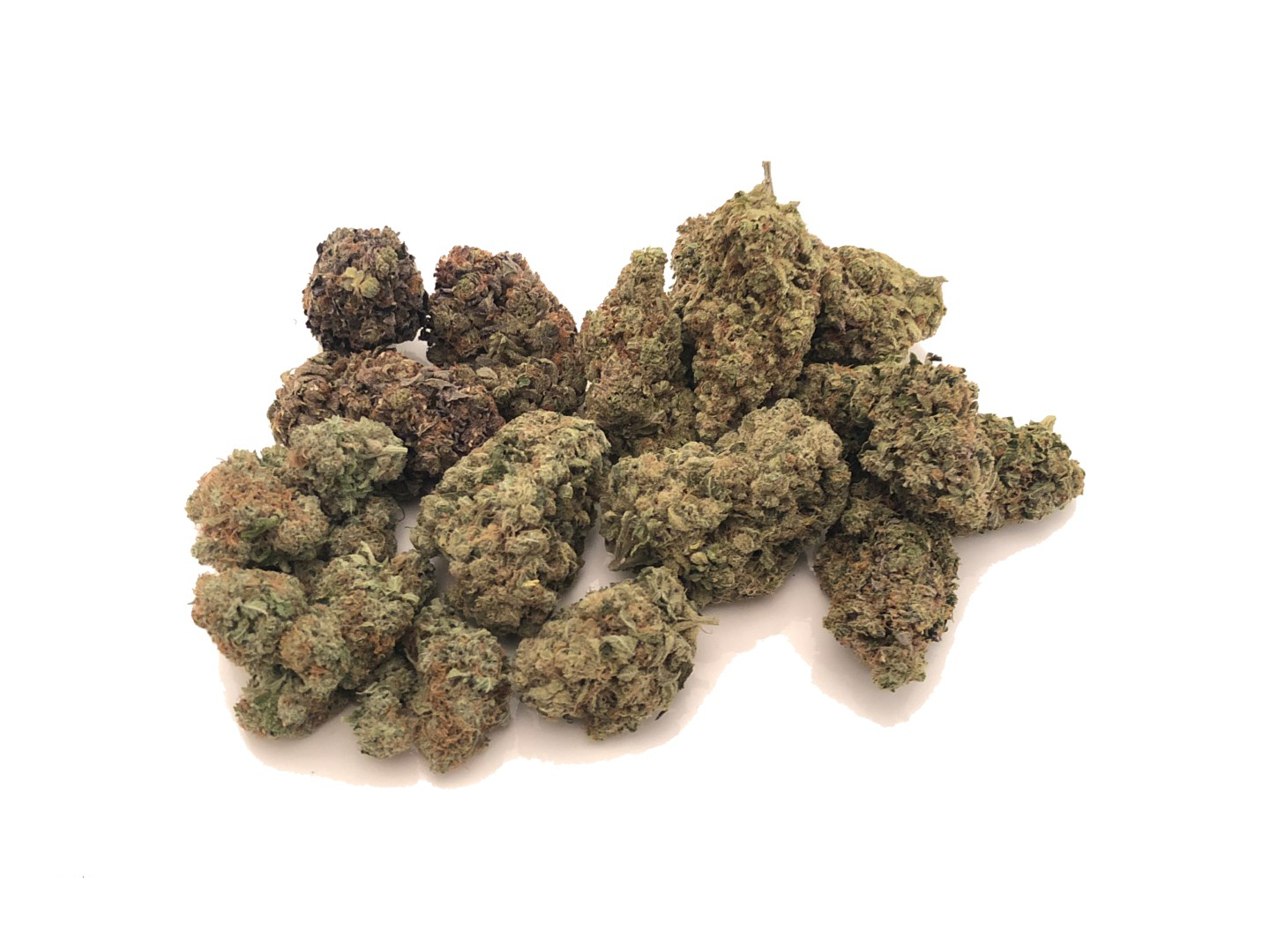 Mixed buds