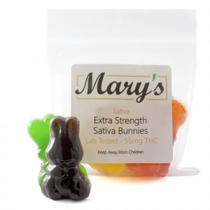 Marys Sativa Bunnies front