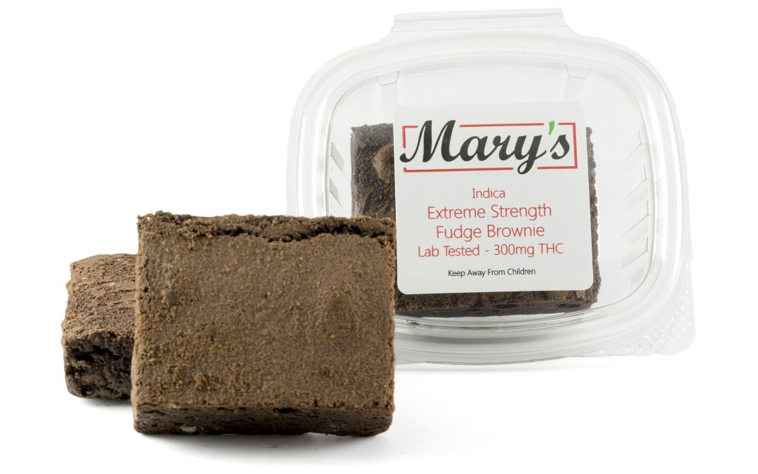 Fudge Brownie (140/300mg THC) by Mary's Medibles