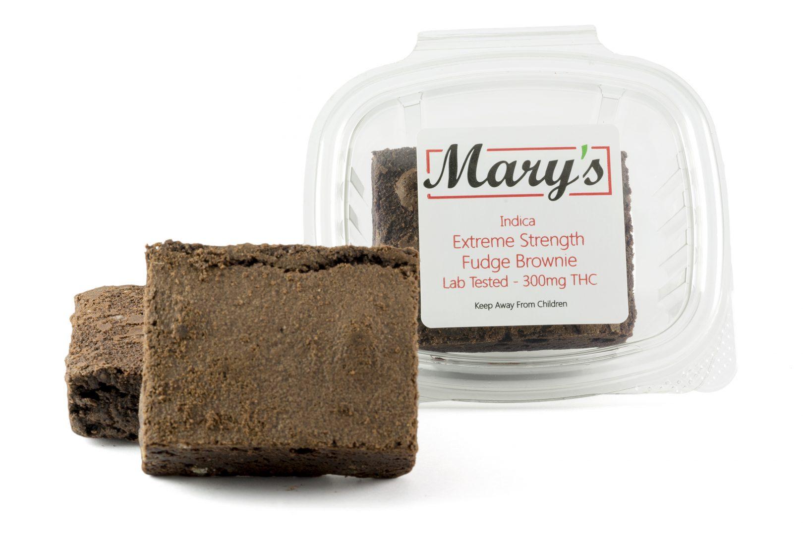 Marys Fudge Brownie