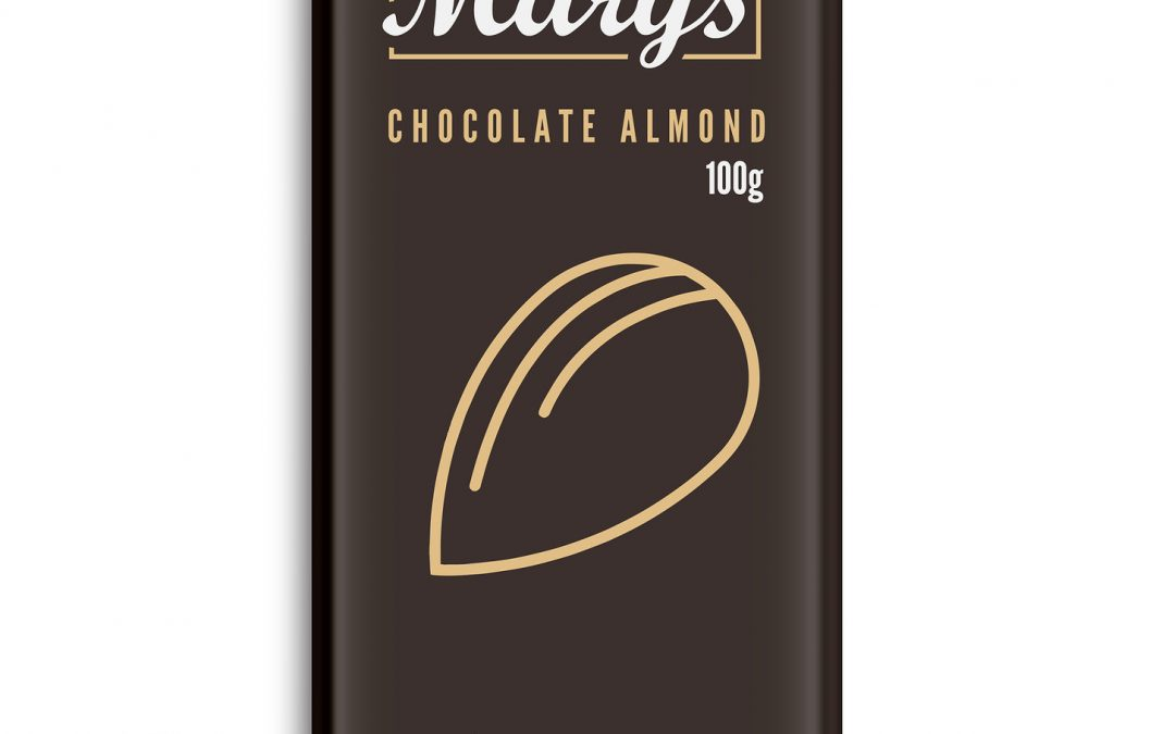 Chocolate Almond Bar (300mg THC) by Mary's Medibles