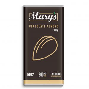 marys chocolate almond bar
