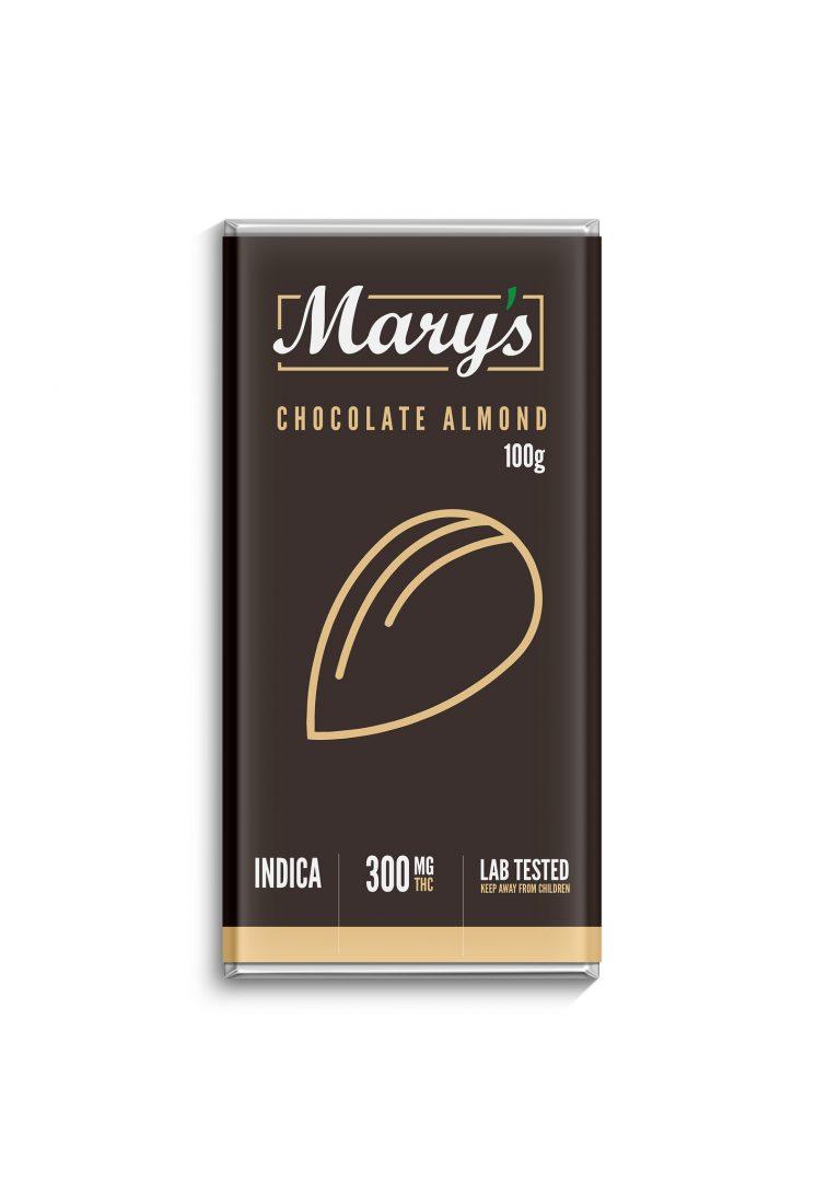 marys chocolate almond bar