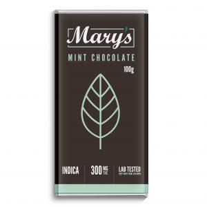 marys mint chocolate bar