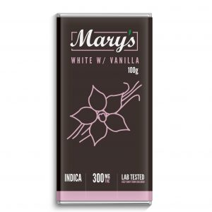 marys white chocolate bar