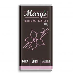 marys white chocolate bar
