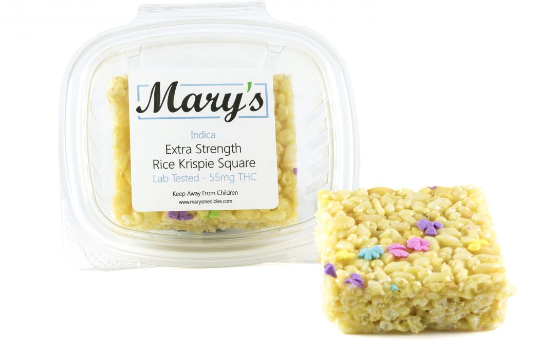 Rice Krispie Square (140mg THC) by Mary's Medibles