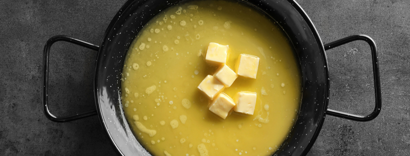 Making Weed Butter On a Stovetop