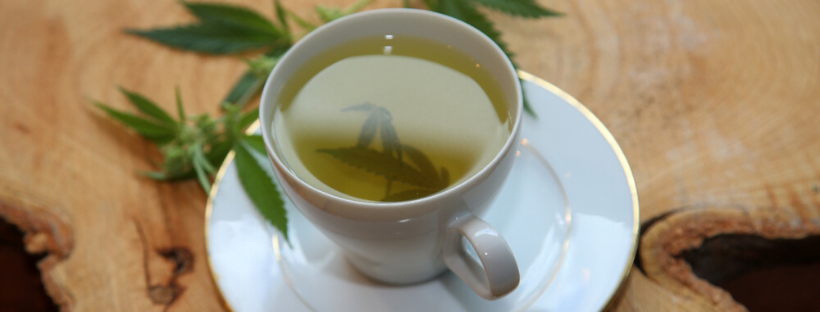 Non Psychoactive Weed Tea from the Raw Plant