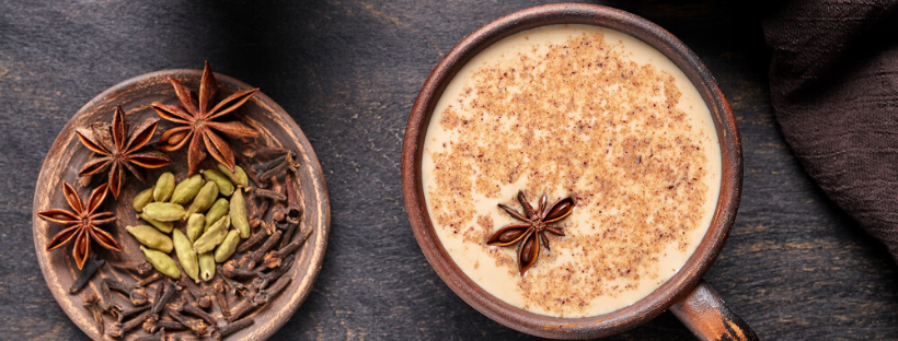 Weed Chai Latte