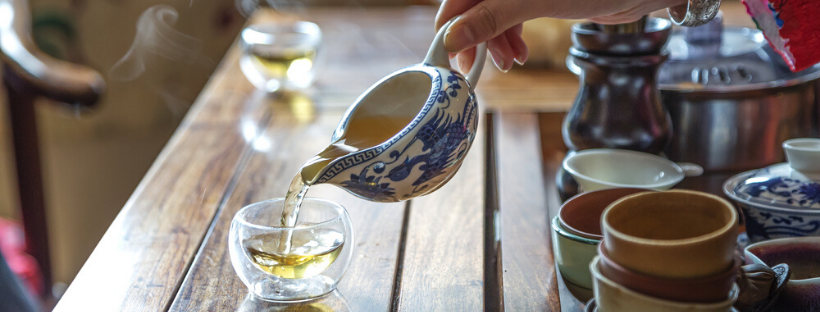 Weed Tea in China