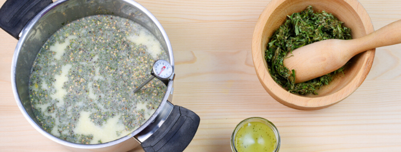 Instructions for Infusing Coconut Oil with Marijuana